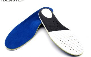 Cushioning orthotic insoles